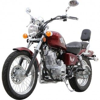 Brand New 2012 Rebel Inspired 250CC Cruiser Motorcycle! Limited Edition! - Moped Scooters