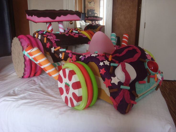 Vanellope's Kart from Wreck-It Ralph