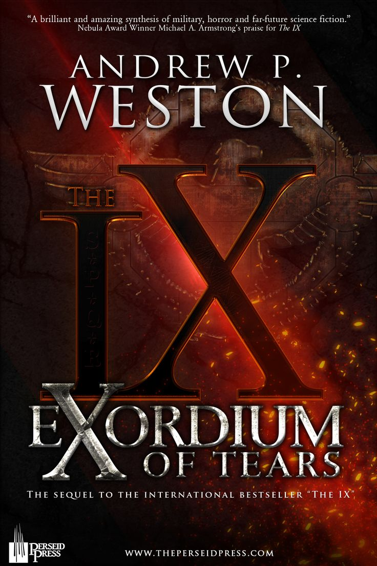 The awesome new cover for Exordium of Tears