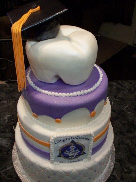 Dental graduation cake. Wild Smiles Pediatric Dentistry - http://www.wildsmiles.us