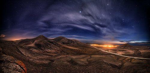Stars and mountains by Juan Antonio Santana