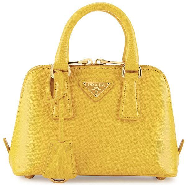 Designer Handbag Sale: PRADA Mini Saffiano Promenade Bag