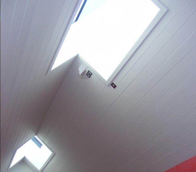 Ridgeglaze skylight - no visible internal framework; low emissivity heat soak tested glass as standard with the option of triple glazing;