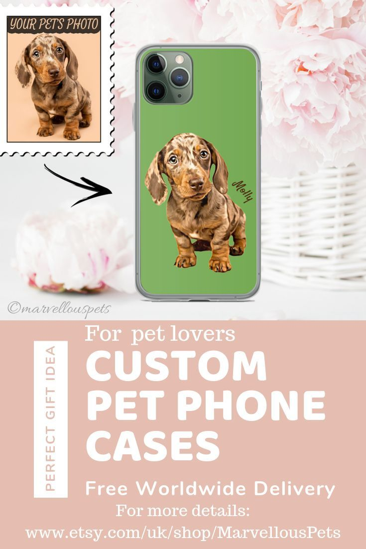 Custom Pet Illustrated Iphone 11 Case Dog Cat Iphone Case Pet Iphone 7 Case Custom Pet Portrait Iphone 6 7 8 Case Pet Samsung Case Custom Pet Portraits Cats Iphone Cases Dog Gifts