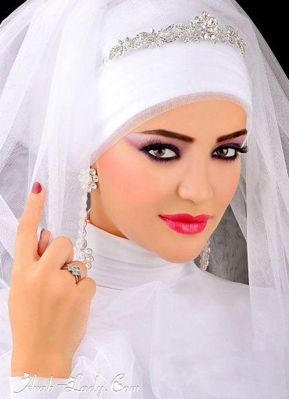 Arab Bride #MuslimWedding, #PerfectMuslimWedding, #IslamicWedding, www.PerfectMuslimWedding.com