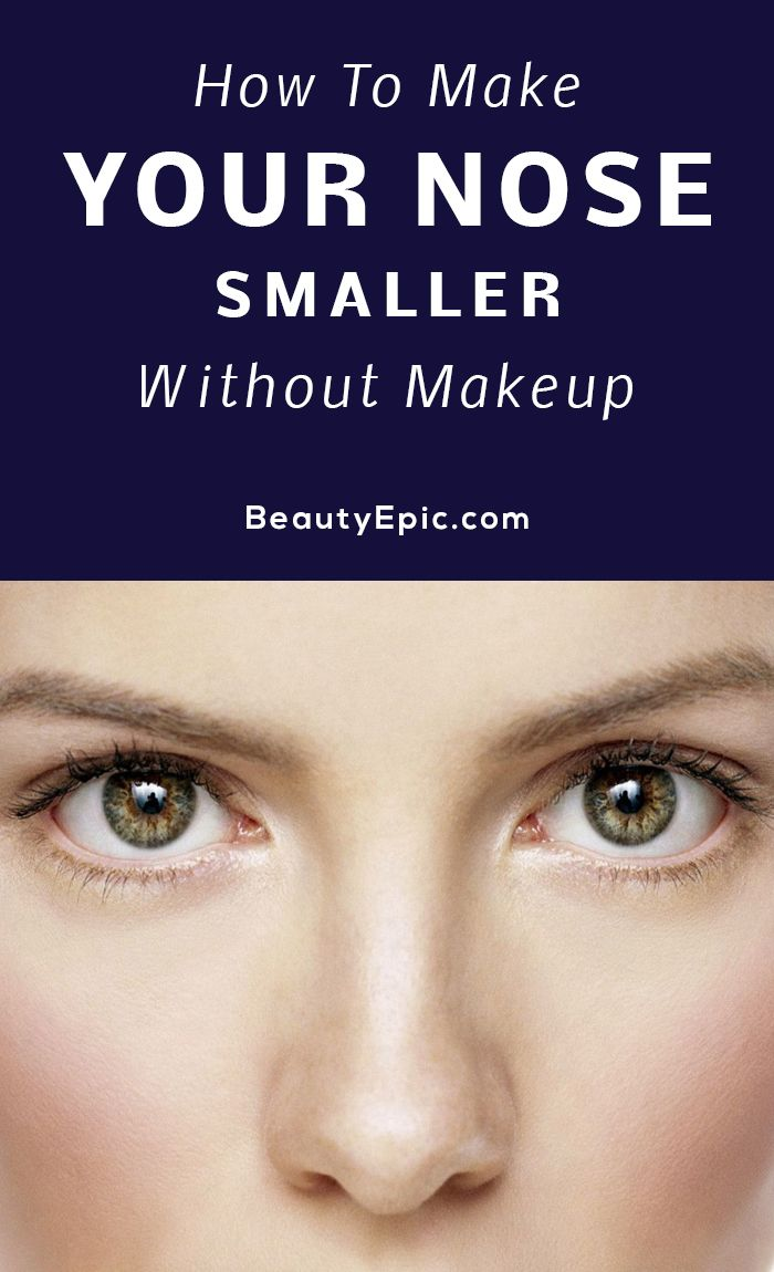 How To Make Your Nose Smaller Naturally Yahoo