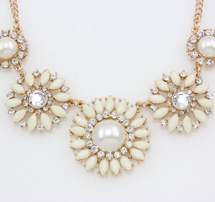 Classy bib necklace