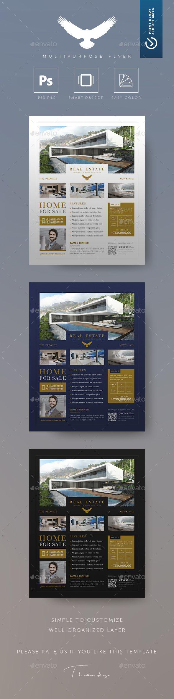 Eagle - Real Estate Flyer - Flyers Print Templates