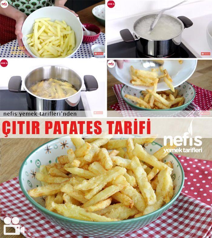 Videolu anlatım Çıtır Patates Kızartması Tarifi nasıl yapılır? 30.021 kişinin defterindeki bu tarifin videolu anlatımı ve deneyenlerin fotoğrafları burada. Yazar: Elif Atalar