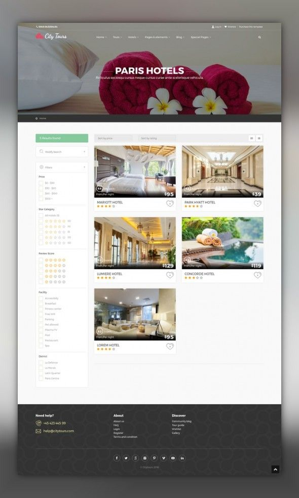 CityTours - Hotel & Tour Booking WordPress Theme booking, booking theme, holiday, hotel, hotel booking, multi language, reservation, responsive, rtl support, tour, tour booking, tour operator, tour theme, travel, travel booking CityTours – Hotel & Tour Booking Wordpress Theme is one of the best hotel & tour booking theme in the world. This theme has not only great skin and layout, but also wonderful booking module which allows you to use ...