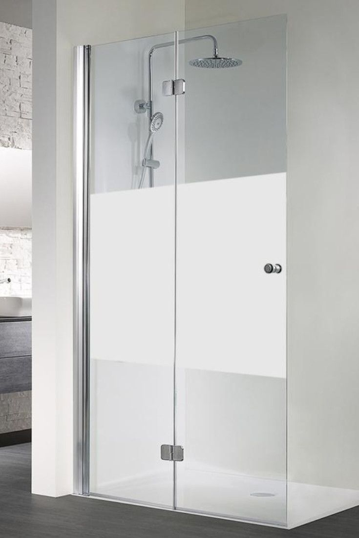 Hsk Exklusiv Walk In Drehfalttur Esg Mittig Mattiert Chrom Optik 4206120 41 100 Li Badezimmer Gestalten Glasduschen Walk In Dusche