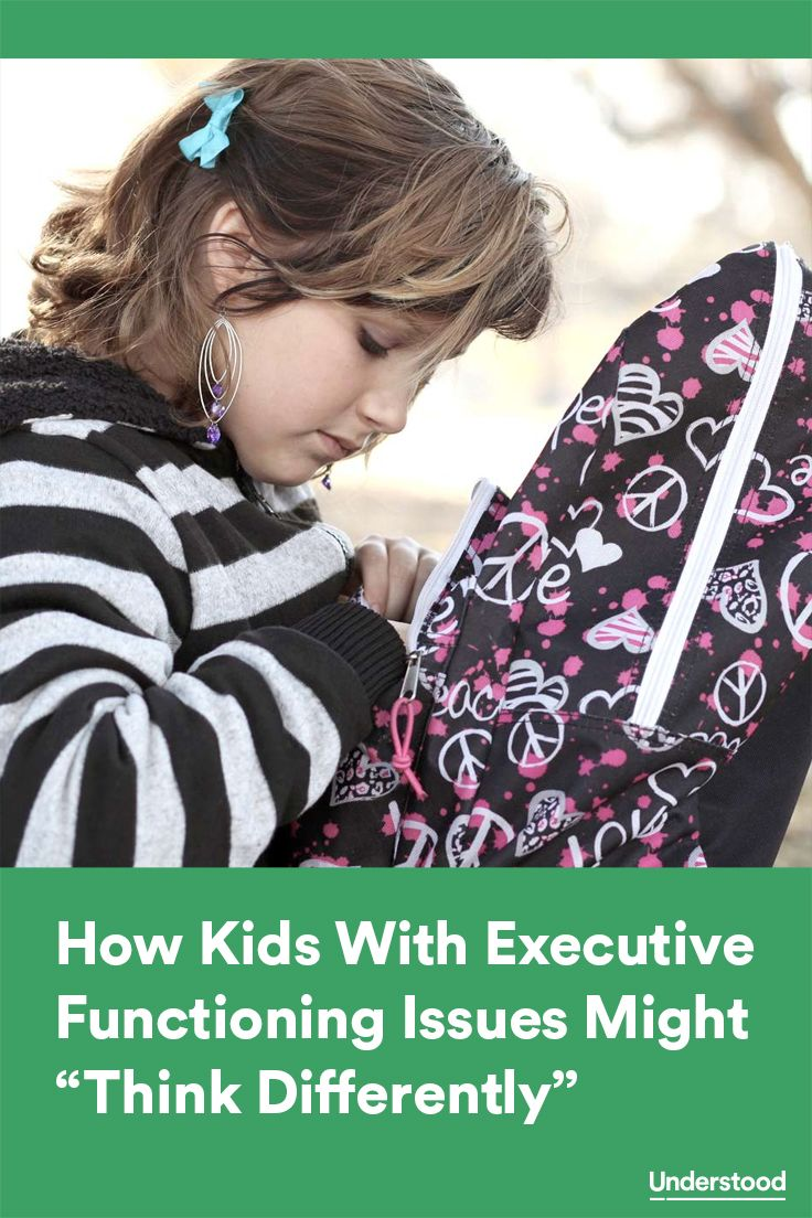 An expert explains how a child with executive functioning issues might process and manage information.