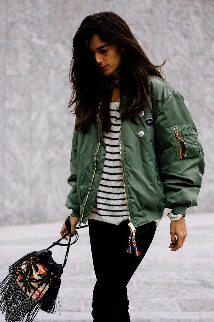 Tendencia en alerta: Bomber Jacket - Chiara Totire | Galería de fotos 31 de 38 | VOGUE