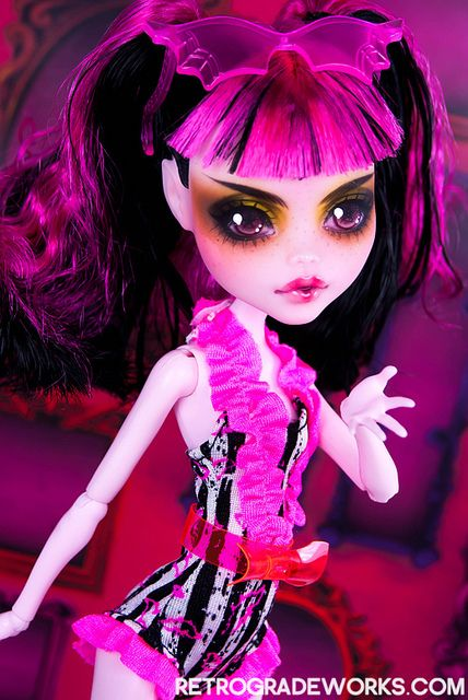 Custom Monster High Draculaura - Etoile