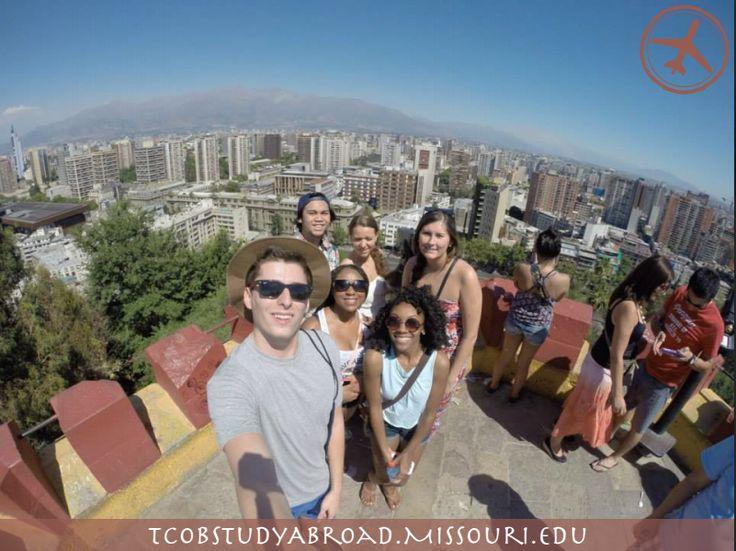 Santiago has a great skyline!
