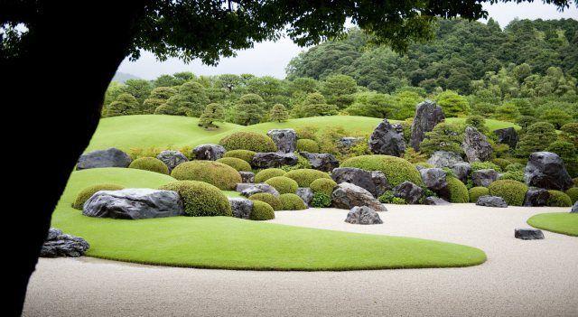 Adachi Garden og Museum, Japan.