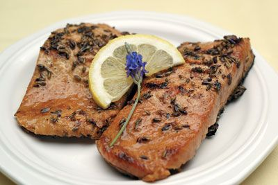 Lavender salmonGrilled Salmon, Lavender Lac Grilled, Lavender Lace, Grilled Lavender, Lavender Salmon, Lavender Grilled, Lace Grilled, Salmon Recipe, Lavender Recipes
