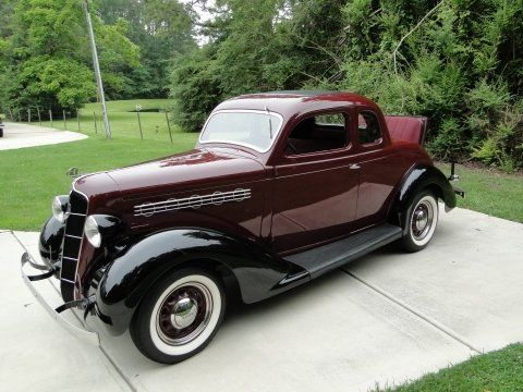 1935 Plymouth Rumble Seat Coupe Image 1 Of 28 We Put