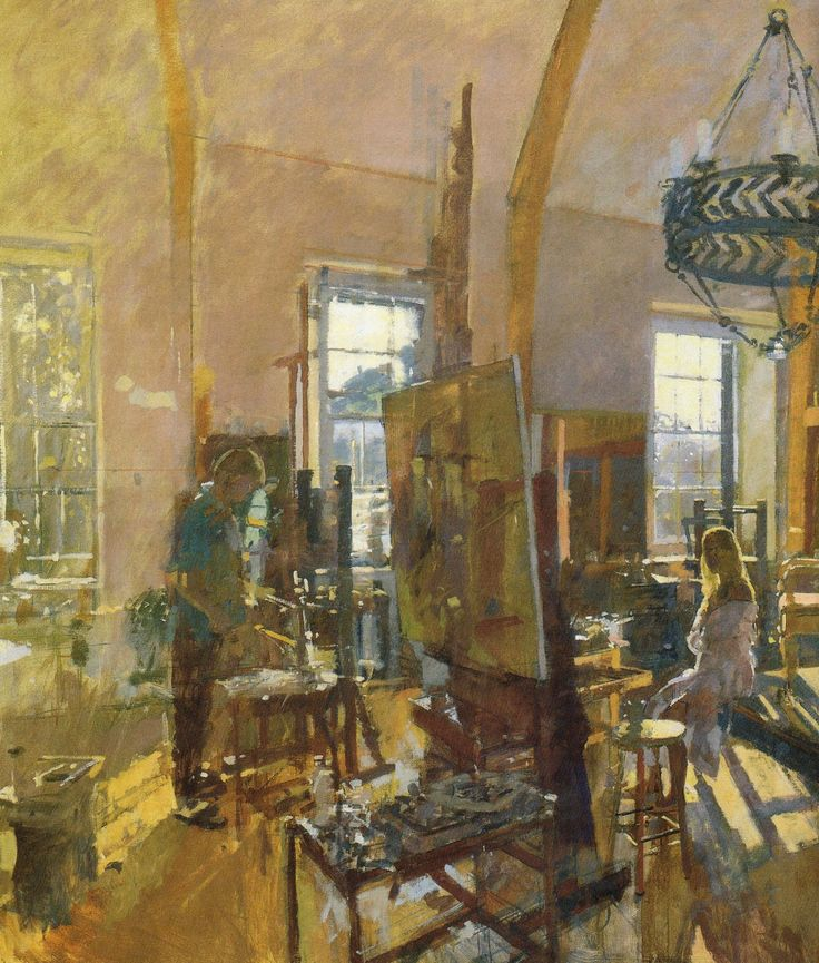 howard artists studio Ken Howard Paintings http://celebsview.info/ken-howard-paintings/