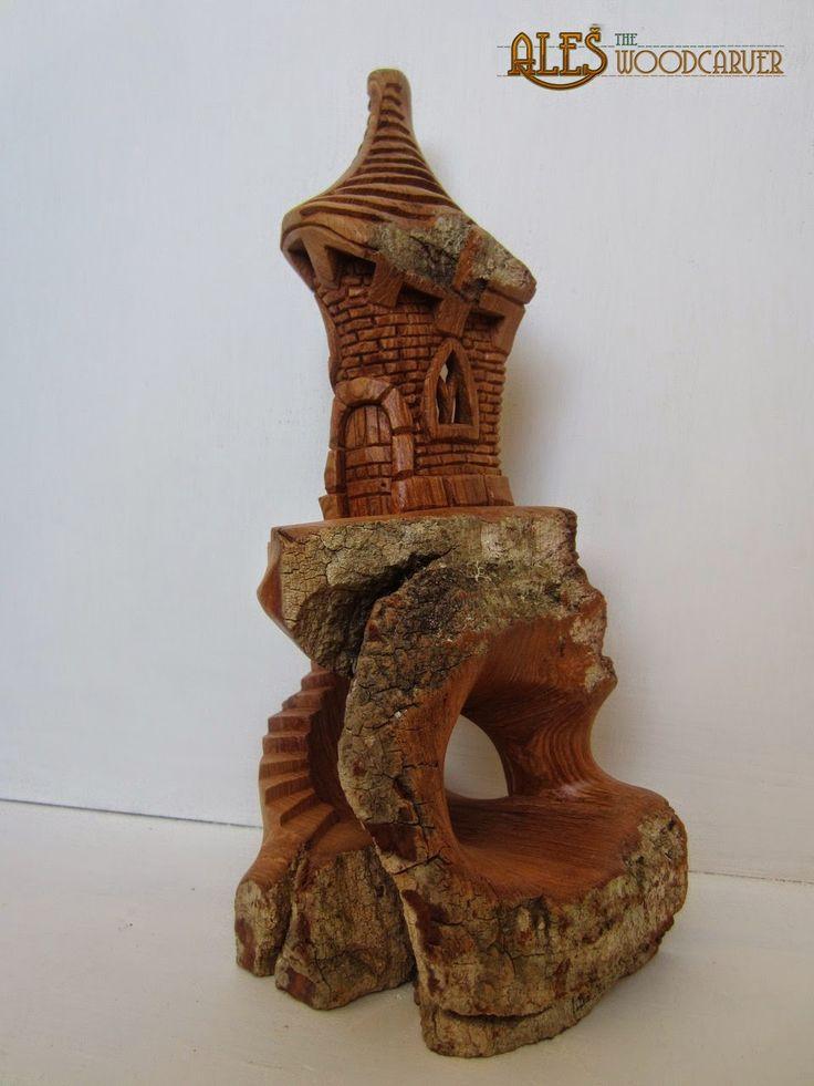 Best carving bark houses images on pinterest carved