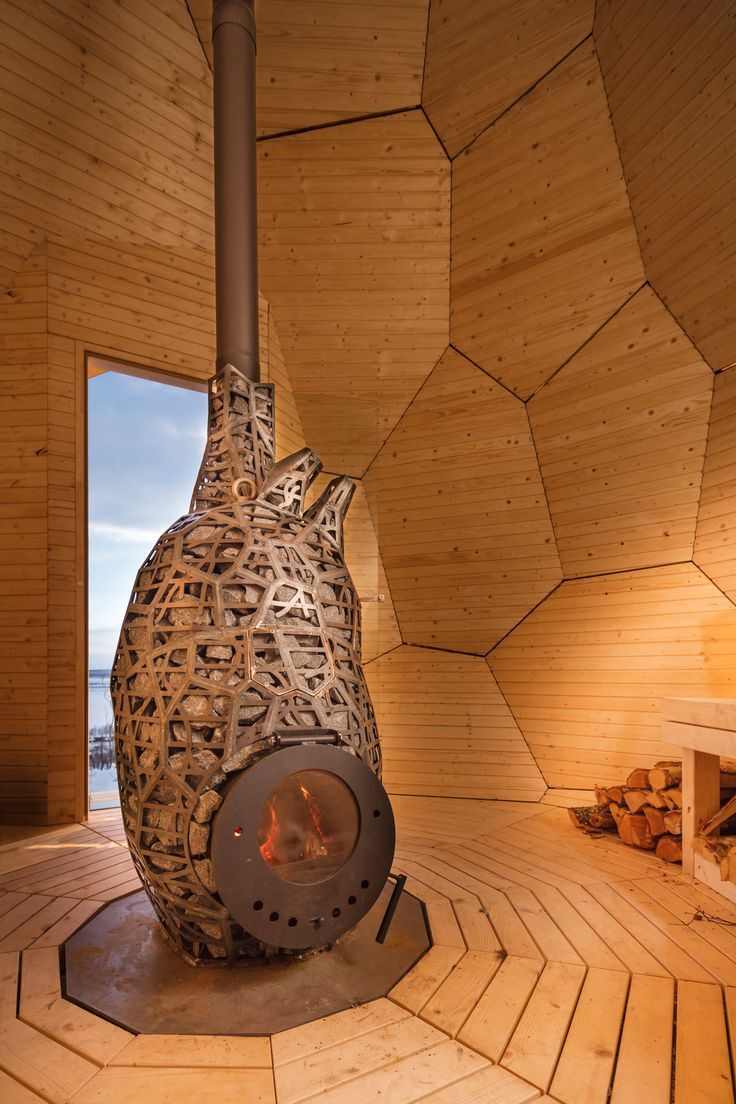 SOLAR EGG: A Public Sauna for Locals to Meet - Design Milk