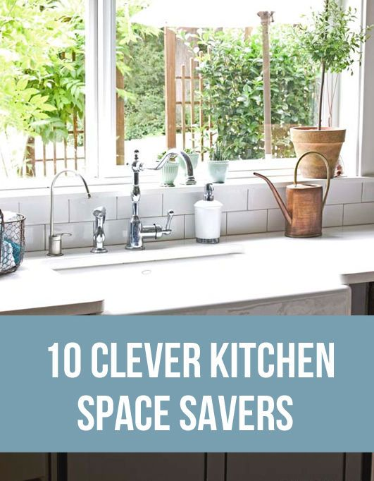 10 Clever Kitchen Space Savers   eBay