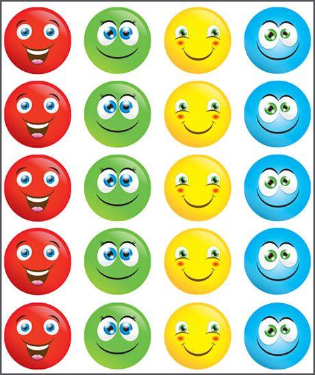 Smiley Face. Teacher sticker pack. Contains 100 sticker. Merit award.