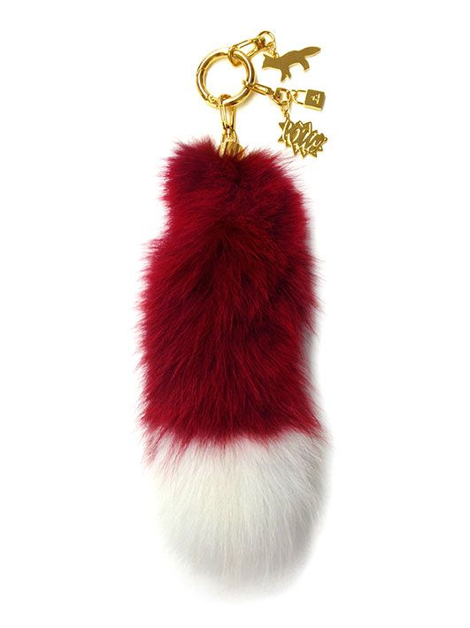 A Cabinet of Chic Curiosities - Real Fur Key Chain by AMBUSH Design x Maison Kitsuné2