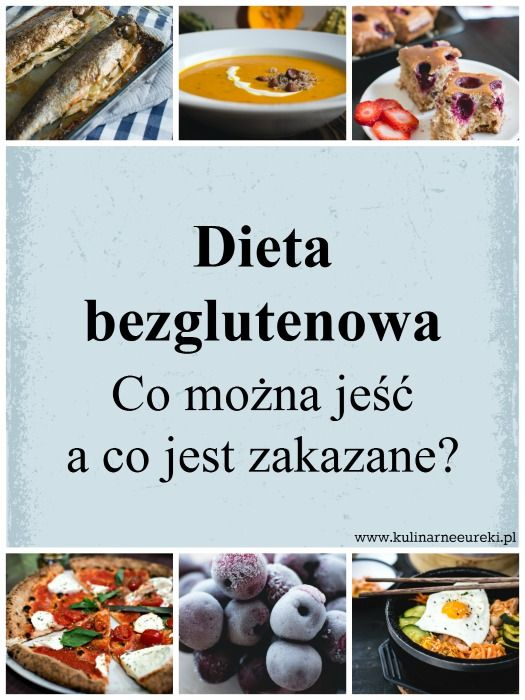 Dieta bezglutenowa co można jeść