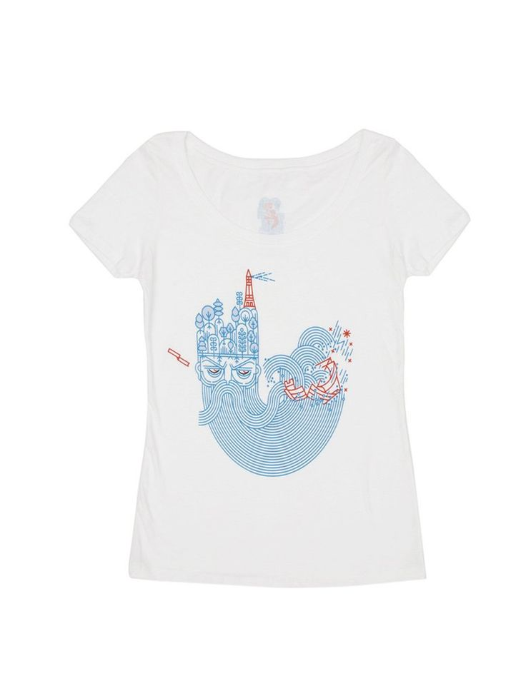 Look what I found from Out of Print! The Tempest women's book t-shirt – Out of Print #OutofPrintClothing