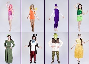 Детские карнавальные костюмы героев сказок и мультфильмов