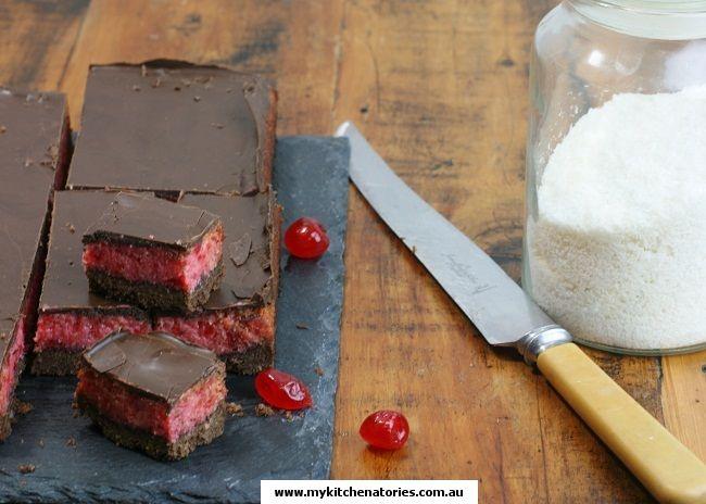 #cherry #ripe slice #recipe