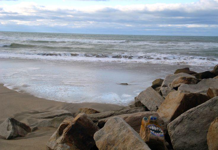 seres extraños habitan cerca del mar...