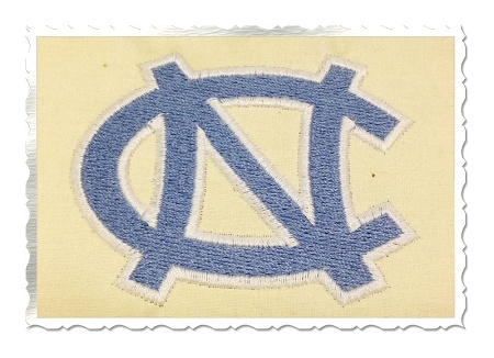 $2.49North Carolina Tarheels Machine Embroidery Design