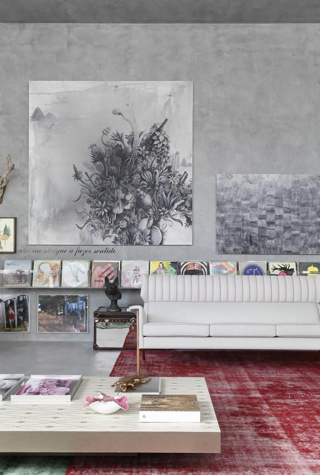 Elegant Mostra Black By Guilherme Torres: Mostra Black Is An Interior Space By Guilherme  Torres, Designed To Be The Ideal Living Space For A Fictional Young ... Photo