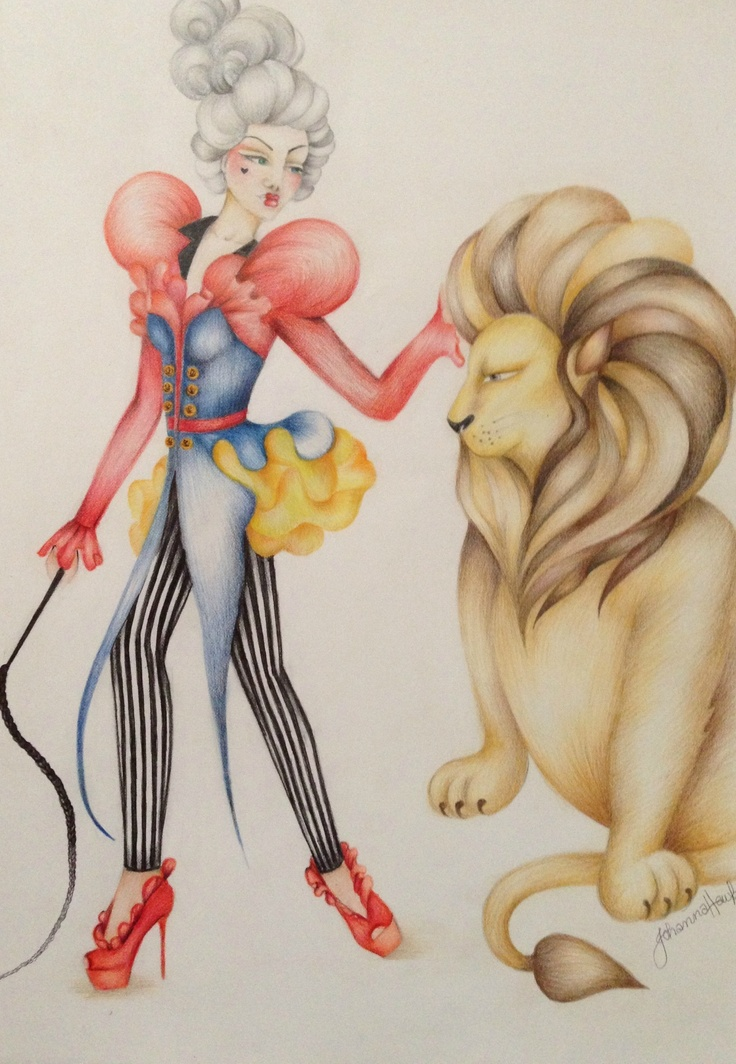 'Marie the Tamer' illustrations by Johanna Hawke