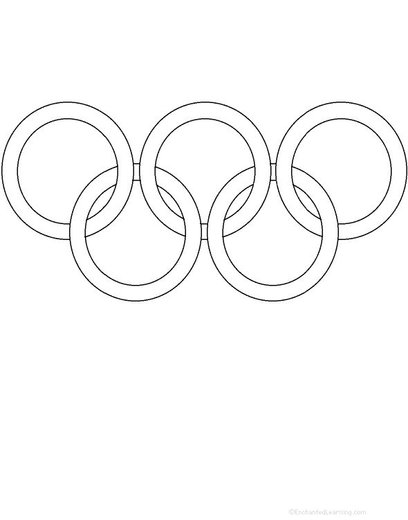 Free Olympic Ring Printable Download www.handmade-decor.com