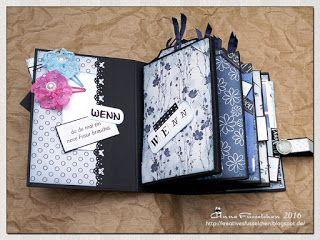Kreatives Fusselchen: Wenn-Buch, Blau, Kanada, Hunde...