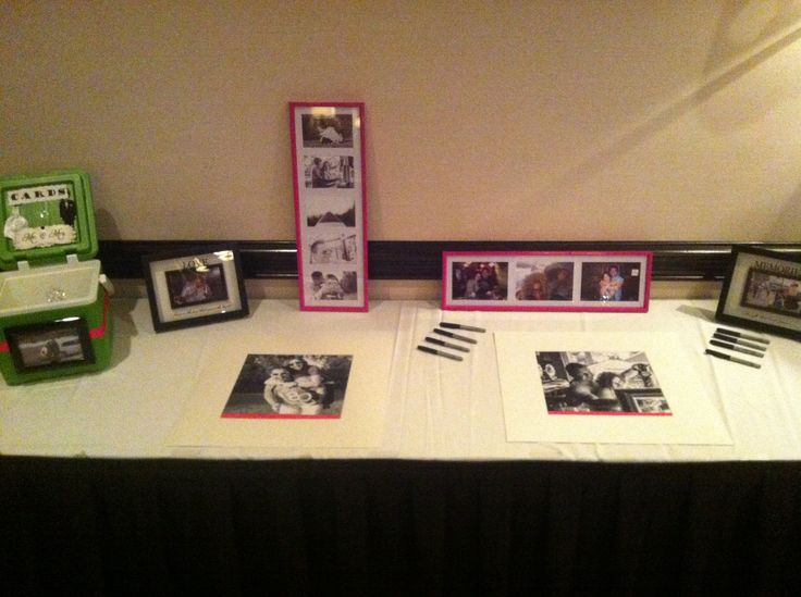 Pink, Black and Green Signing Table - Holiday Inn Burlington Hotel & Conference Centre