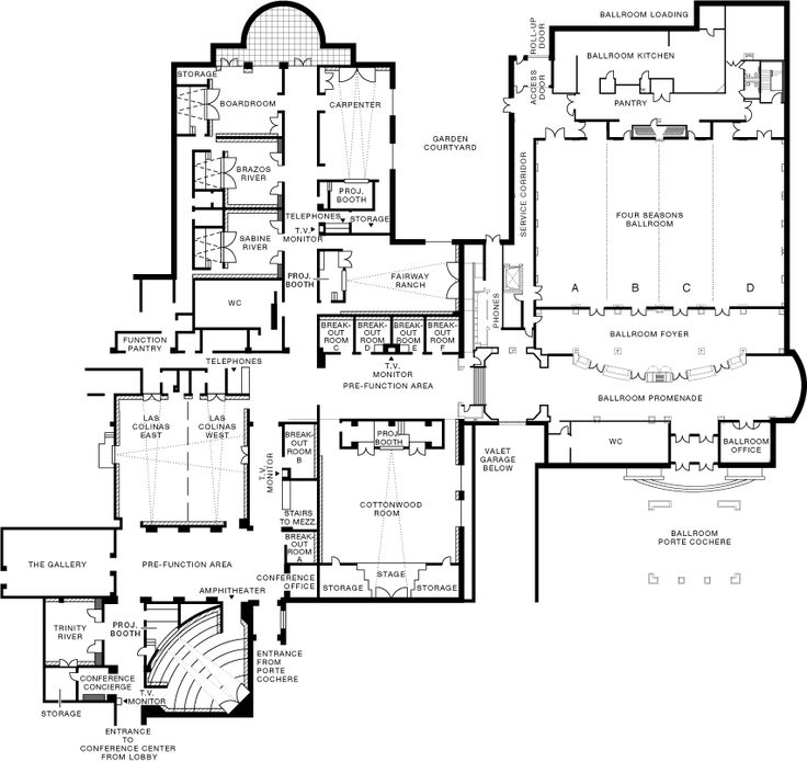 Dcc Lobby Level Floorplan Gif 853 215 806 Ma Case Studies
