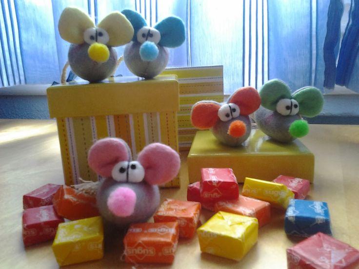 Los mundos de Esthercita: Simpáticos roedores