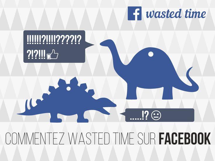 Communication wasted time sur les réseaux sociaux.