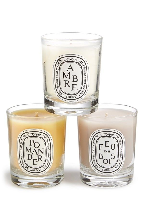 Diptyque 'Spicy' Candle Trio #giftsforhim #giftsforher