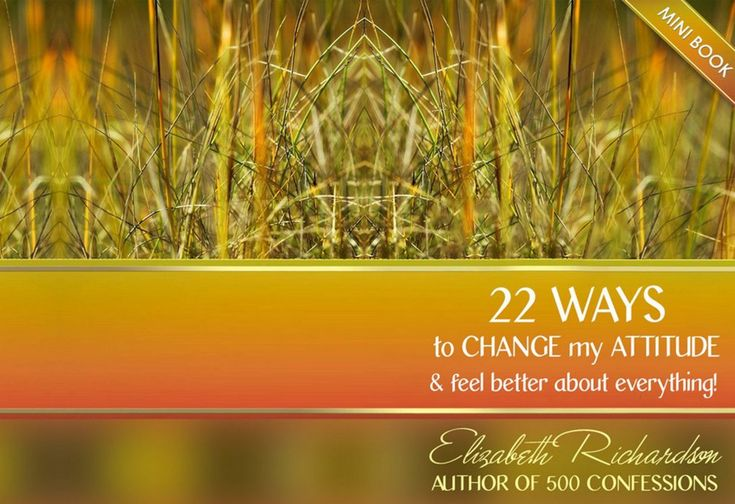 22 Ways To Change - FREE E-BOOK