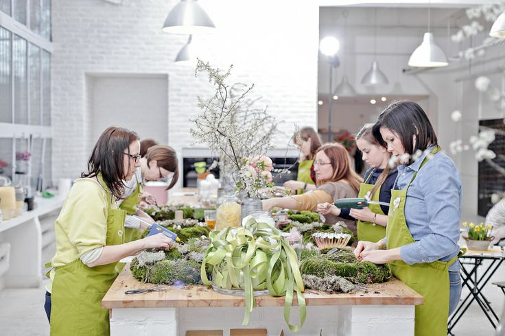 Easter decor workshop