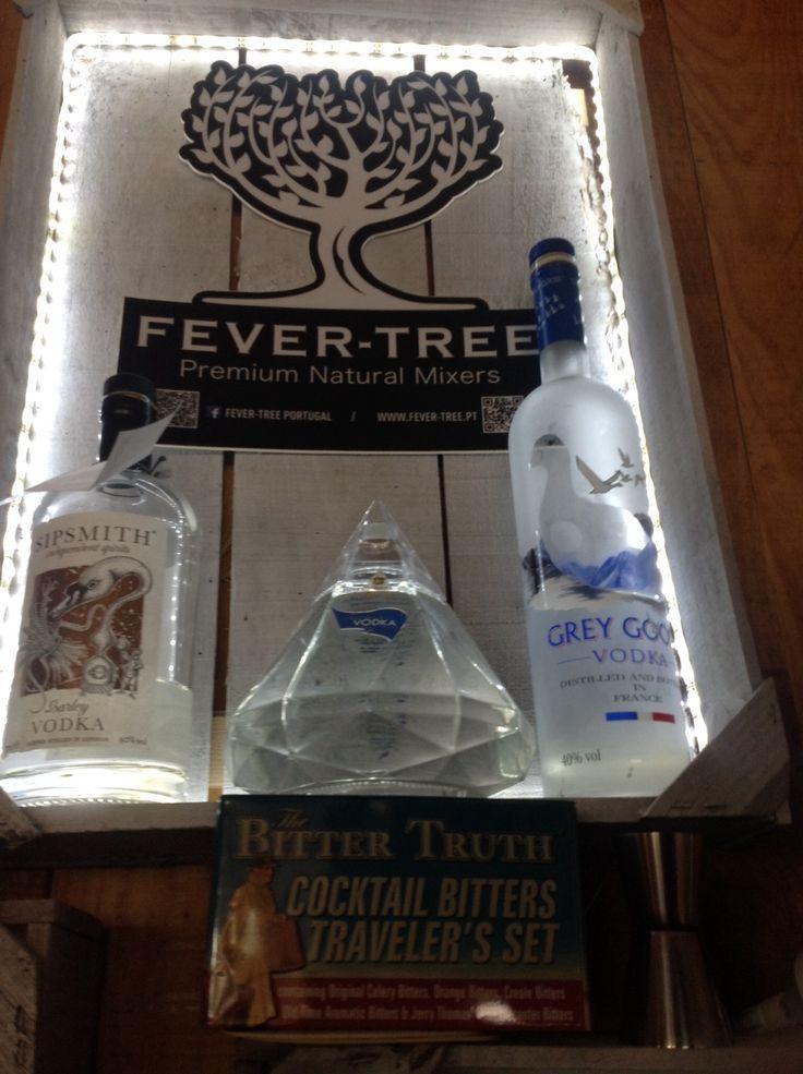Vodkas  Sipsmith Grey Goose Tônica Premium Fever Tree