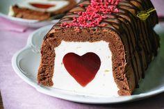 z cukrem pudrem: ciasto na Walentynki