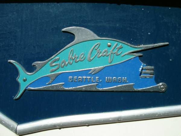 1959 Sabre Craft Logo Various Old Boats Vintage Boats
