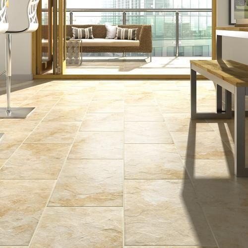 Riga Beige Porcelain Floor Tile Porcelain Floor Tiles