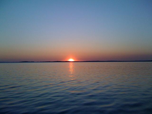 Georgian Bay sunset.: Sound Area, Georgian Bay, Pic Ideas